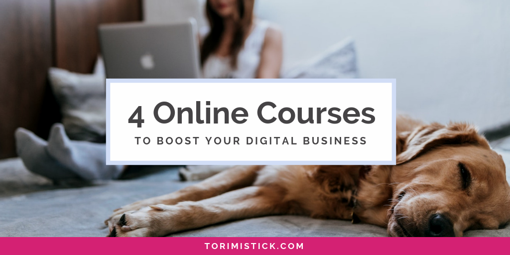 4 Courses That Will Boost Your Online Business