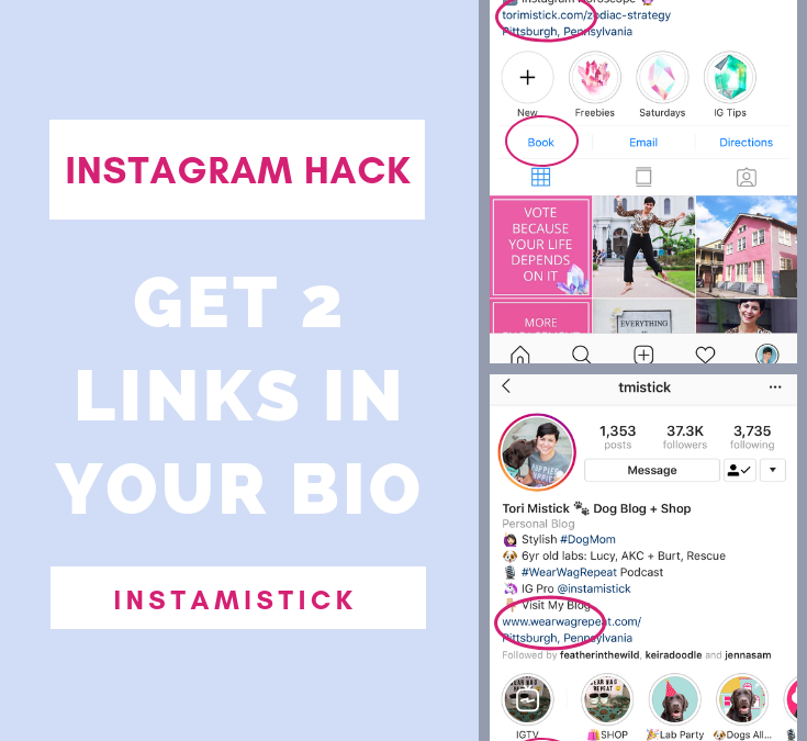 How To Get 2 Links In Your Instagram Bio